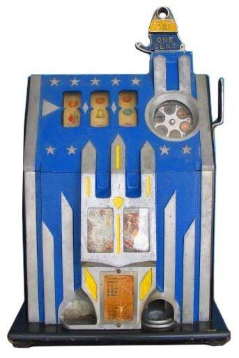8: Comet Slot Machine