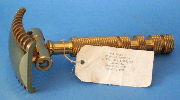 114A: Vintage Patent Razor Model
