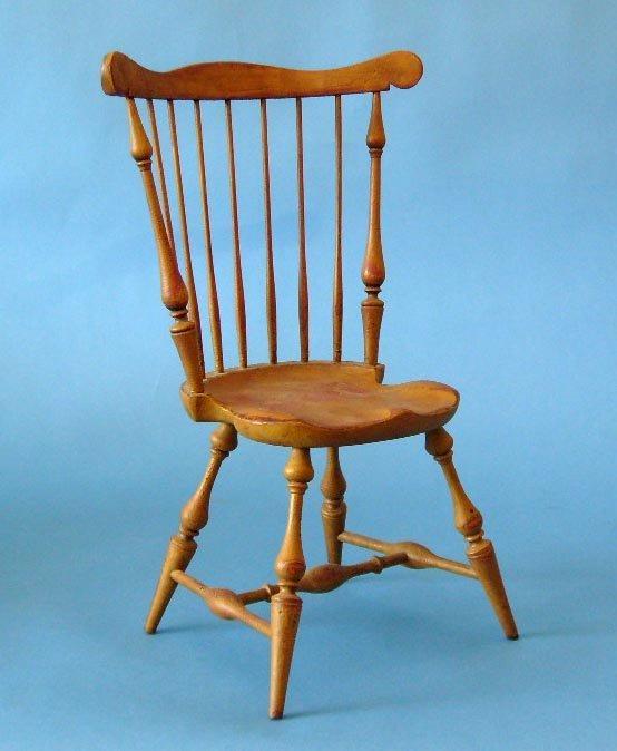 114B: Vintage Salesman Sample Chair