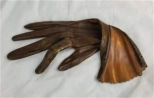Antique Bronze Ladies Glove