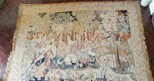 Very Large Antique Tapestry