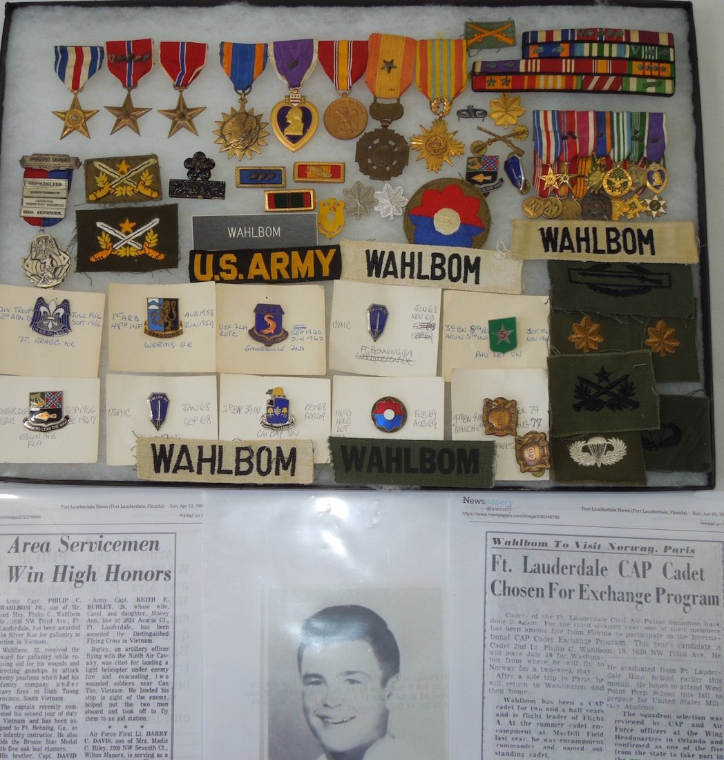 Vietnam Silver Star Infantry Medal Group