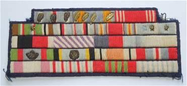 WWII Famous RCAF & USAAF Gunner Ribbon Bar