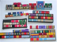 US Military Custom Ribbon Bars Lot Embroidered