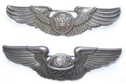WWII Sterling USAAF Navigator and Aircrew Wings