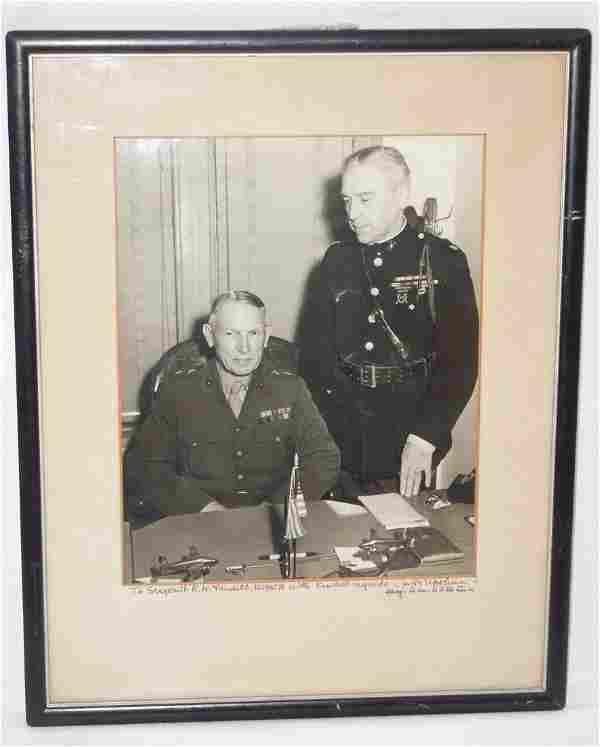 MOH USMC General William Upshur Signed Photo