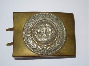 WWI Imperial German Army Belt Buckle