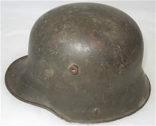 WWI M18 Imperial German Army Helmet & Liner