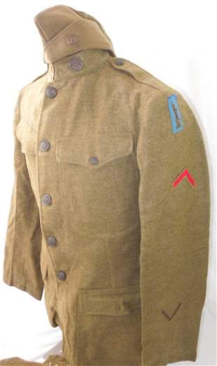 WWI US 77th Division 305th Field Artillery Uniform