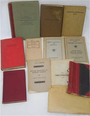 WWI - 1930s US Army Book Lot