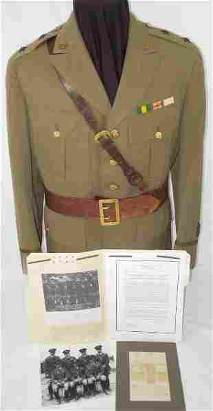 1930s US Mass. 26th Infantry Major General Erland Fish