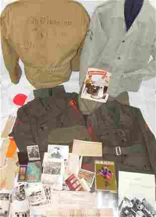 WWII USMC Iwo Jima 5th Marine Division Group