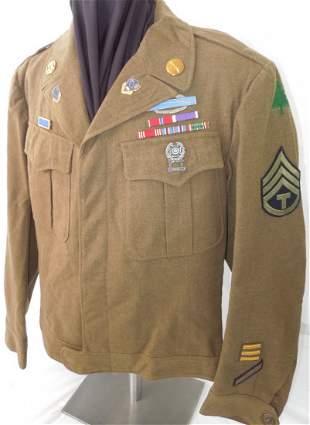 WWII 91st Div. 362nd Infantry US Army Ike Jacket CIB