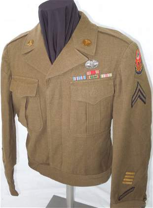 WWII US Army European Theater Combat Medic Named