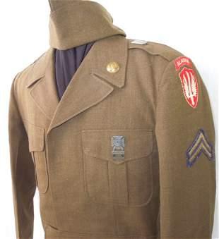 1950s US Army SCARWAF 813th Engineer Alaska Uniform Lot