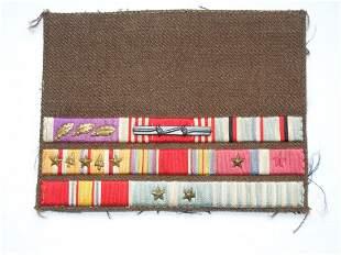 WWII Korean War Purple Heart Custom Ribbon Bar Invasion