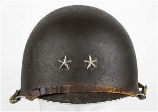 WWII 32nd Infantry Div. Maj. General Harding M-1 Helmet