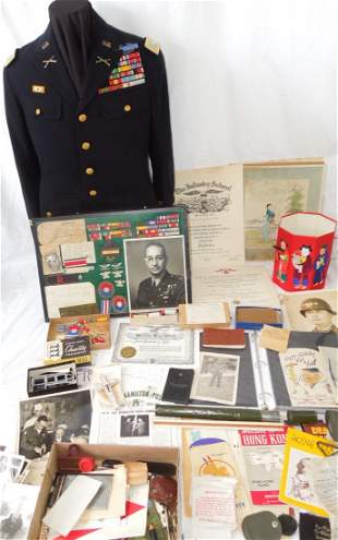 WWII - Korean War 9th Infantry Colonel Archive