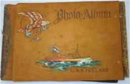 WWII USN Navy USS Holland / Aliair Scrapbook