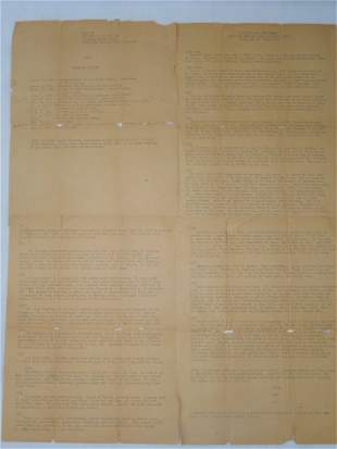 Battle of Attu Translation of Japanse Doctor Diary Lot
