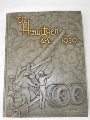 Named KIA 1939 USMA Howitzer West Point Army Yearbook