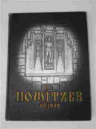 1949 Army USMA West Point Howitzer Army Yearbook