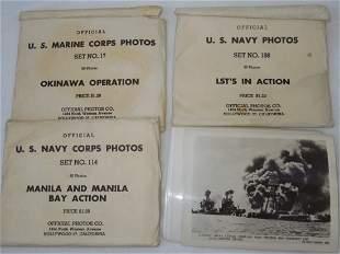 WWII USMC Navy Photos Pearl Harbor Manila LST Okinawa