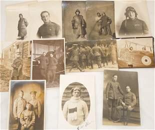 WWI Era British Royal Flying Corps RFC RPPC Photos Lot
