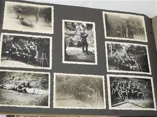 WWII German Luftwaffe Dunkirk Scrapbook Photo Album