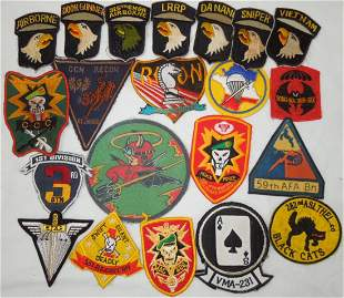 Reproduction Vietnam US Military Patch Insignia Lot