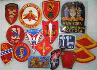 WWII - Vietnam US Army Navy Air Force Patch Lot
