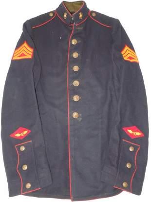 WWII 2x Named USMC Staff Sergeant Marine Dress Blues