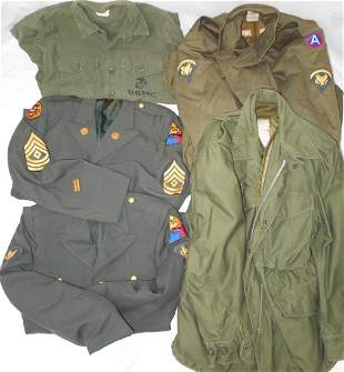 Cold War Army Uniforms Lot 50th Armored Tank Destroyer
