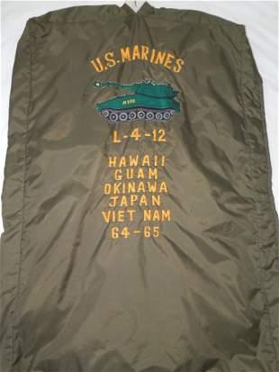 Vietnam USMC Embroidered Clothing Bag M-109 Howitzer