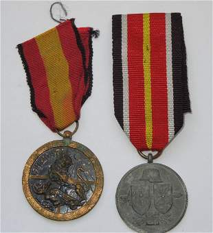 Spanish Civil War German Blue Division Campaign Medals
