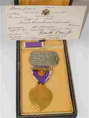 Korean War KIA DSC Heartbreak Ridge Purple Heart