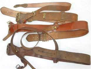WWI US Army Air Service Sam Browne Belts Lot