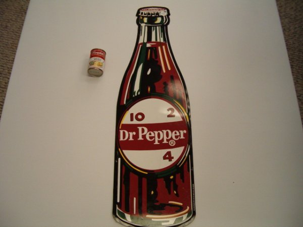 3: CONTEMPORARY TIN DR. PEPPER SIGN