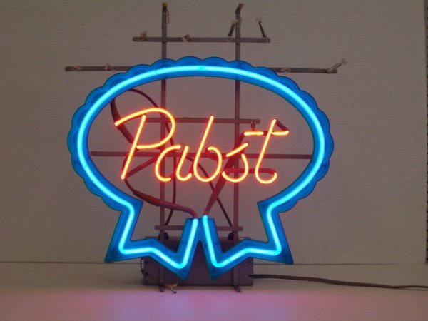 1001: NEON SIGN (PABST BLUE RIBBON) (WORKS) (CAMPBELL'S