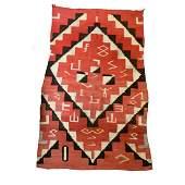 Unique Navajo Wearing Blanket (c. 1890-1900)