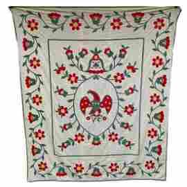 Appliqued Eagle Summer Quilt