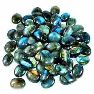 Blue Flashy Labradorite Gemstone Mix Shape 1000 Cts.