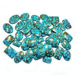 Copper Turquoise Gemstone Mix Shape 1000 Cts.