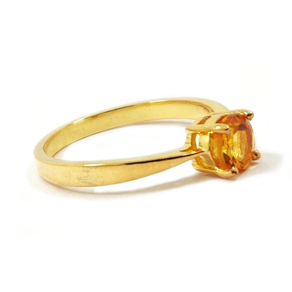 CITRINE GEMSTONE 14KT YELLOW GOLD RING