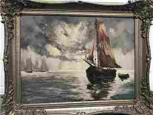 Anthony Thieme Oli on Canvas