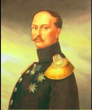 Tzar Nicholas I Oil on Canvas