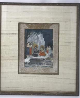 19th Century Guler School Indian Miniature Painting