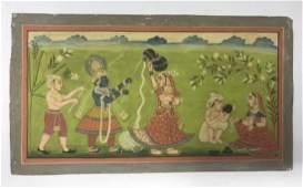 Indian Miniature Painting- Bikaner School