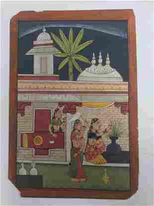 Indian Miniature painting- kota school