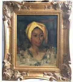 Oil on canvas, Attr. to Nicolai Fechin (1881 - 1955)